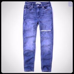 Abercrombie Girlfriend Jeans